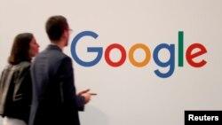 Le logo Google lors d'un événement à Paris, en France, le 16 mai 2019. REUTERS / Charles Platiau / File Photo