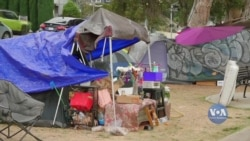 Як у Лос-Анджелесі намагаються вирішити кризу бездомності у час пандемії? Відео