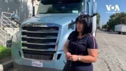 Як українка здійснює свою американську мрію за кермом вантажівки. Відео