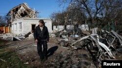 Донецк, 6 ноября 2014