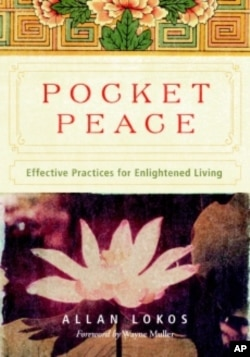 There are 54 calmness-inspiring exercises in 'Pocket Peace: Effective Practices for Enlightened Living,' by author Allan Lokos.