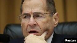 Le président du comité judiciaire de la Chambre des représentants, Jerry Nadler, le 8 mai 2019. REUTERS / Leah Millis -