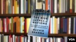 夏尔玛新书《国家兴衰》 (美国之音章真拍摄)