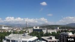Podgorica, Crna Gora (athivski snimak)