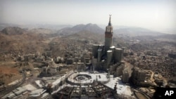 The Grand Mosque and its expansion in Mecca, Saudi Arabia, Oct. 16, 2013.