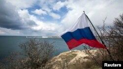 Флаг России в Крыму