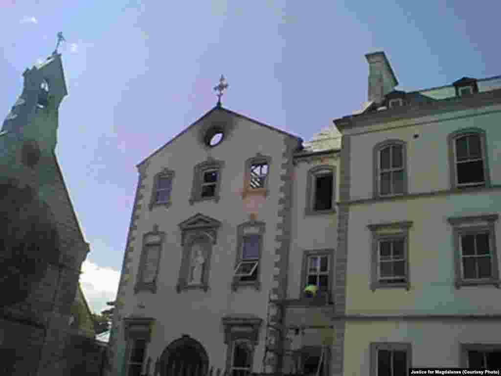 Biara dan Binatu High Park di, Dublin, Irlandia. Diperkirakan lebih dari 11.000 perempuan pernah ditampung oleh lembaga seperti ini antara 1922 sampai 1996.