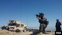 قوای خاص افغان مواضع گروه دولت اسلامی شاخه خراسان را نشانه قرار میدهند