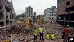 Srušena fabrika odeće u Bangladešu