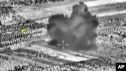 Фото обстрілу Сирії, оприлюднене Міністерством оборони Росії 2 жовтня 2015 р.