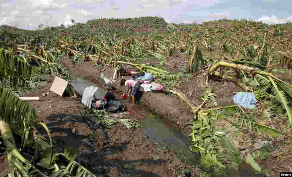 فلپائن میں آئے طوفان سے تباہ کاریاں
