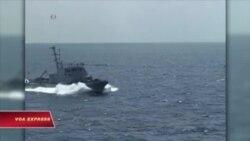 Tàu chiến Ấn Độ cập cảng Cam Ranh