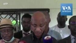 """L'opposant guinéen Cellou Dalein Diallo salue """"la chute de la dictature"""""""