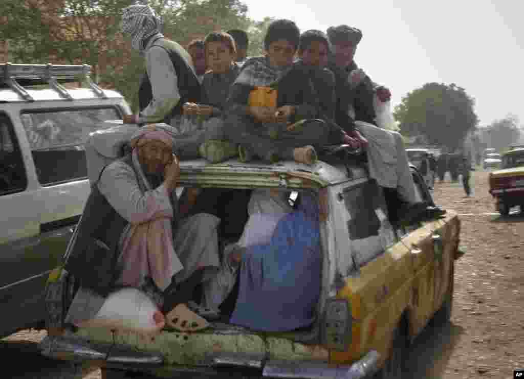 گوشه یی از زندگی روستا نشینان افغان