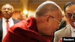 Le Dalai Lama lors de sa visite à Washington le 5 février 2014.