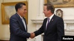 Митт Ромни и Дэвид Кэмерон