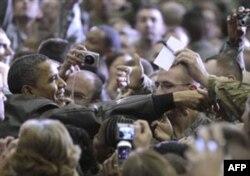 Obama kutilmaganda Afg'onistonga bordi