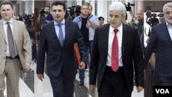 Macedonia political leaders