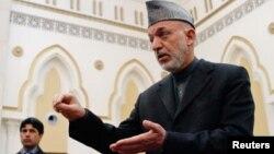 하미드 카르자이 아프가니스탄 대통령. (자료 사진)