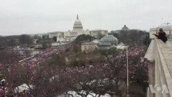 واشنگٹن ڈی سی میں خواتین کا تاریخی مارچ