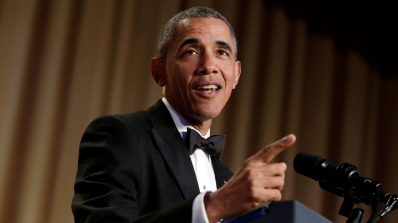 Obama Pokes Fun at Friends and Enemies at Washington Dinner