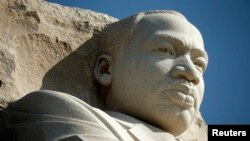 Monumen Martin Luther King Jr. di Washington, 20 Agustus 2013 (Foto: dok).