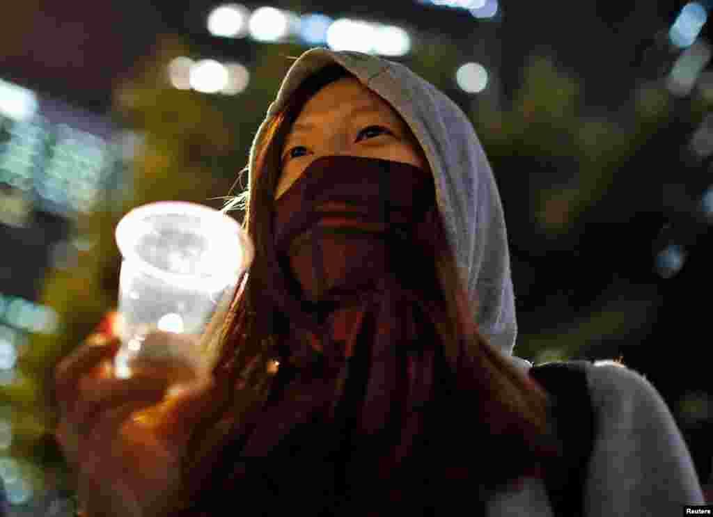 Hong Kong es una de las ciudades donde miles de manifestantes marcharon con motivo del Día Mundial de los Derechos Humanos.