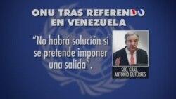 ONU y OEA reaccionan a referendo venezolano