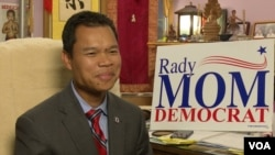 Mom Rady is running for re-election in Massachusetts' 18th Middlesex District. (VOA Khmer)
