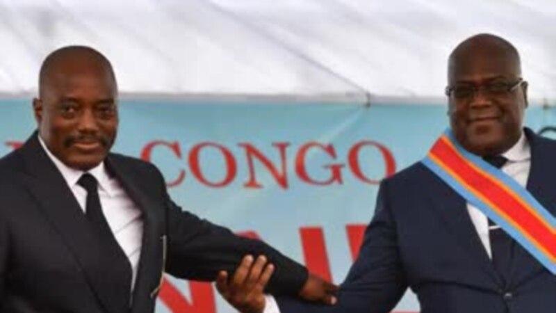 Lucha esengi na Félix Tshisekedi na Joseph Kabila kosakola bozuwi na bango