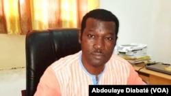 Dr. Abdoulaye Diabaté, principal investigateur du projet Target Malaria, à Ouagadougou, Burkina, 14 septembre 2018. (VOA/ Abdoulaye Diabaté)