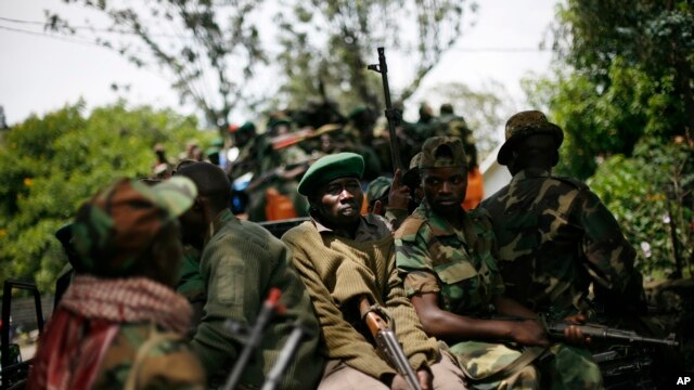 Congo Rebels accuses the Congolese government of refusing to negotiate at recently-reconvened peace talks, (File photo).