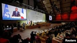 美国总统奥巴马在巴黎联合国气候峰会上讲话(2015年11月30日)