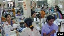 بنگلہ دیش میں سلے سلائے کپڑوں کی صنعت
