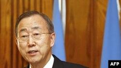 Tổng thư ký Ban Ki-moon nói thái độ thiếu dứt khoát làm hỏng vai trò của Liên Hiệp Quốc vào lúc tổ chức này cần một tiếng nói thống nhất để Tổng thống Assad chấm dứt sử dụng bạo lực chống lại nhân dân