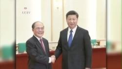 Chủ tịch Trung Quốc kêu gọi phát triển lành mạnh quan hệ Trung-Việt