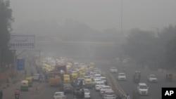 Kota New Delhi, India memiliki kualitas udara yang terburuk di dunia (foto: dok).