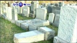 Manchetes Americanas 27 Fevereiro 2017: Túmulos judeus vandalizados
