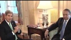 2013-10-21 美國之音視頻新聞: 克里會晤到訪的巴基斯坦總理
