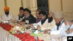 بین المذاہب اجلاس میں انتہا پسندی کے خلاف اتحاد کا عزم