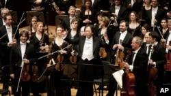 로열 콘세르트허바우 오케스트라와 지난 21일 협연한 지휘자 정명훈.