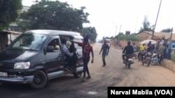Des violences ont éclaté à Lubumbashi, en RDC, le 29 mars 2017. (VOA/Narval Mabila)