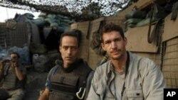 لیبیا جنگ کا نشانہ بننے والے صحافی اور فلم ساز ٹم ہیتھرنگٹن