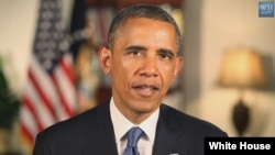 President Barack Obama (White House video screen grab).