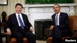 Novi kineski predsednik Ši Đinping i predsednik Barak Obama tokom prošlogodišnjeg susreta u Beloj kući