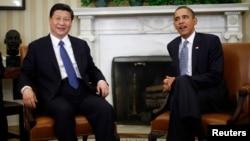 El presidente Barack Obama y Xi Jinping se reunieron en febrero de 2012, cuando el dirigente chino era vicepresidente.