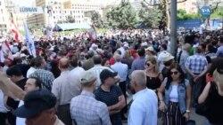 Lübnan'da Emekli Askerler Sokağa İndi