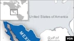 Peta Meksiko