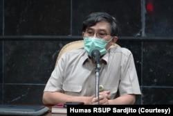 Direktur RSUP dr Sardjito, Rukmono Siswishanto. (Foto: Courtesy/Humas RSUP Sardjito)