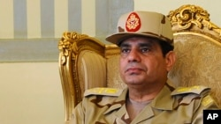 Bivši komandant egipatske vojske Abdel Fatah el-SisiE